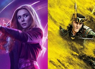 MCU TV Scarlet Witch dan Loki