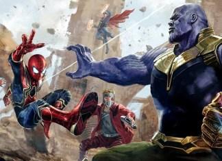 Thanos Santai vs Avengers