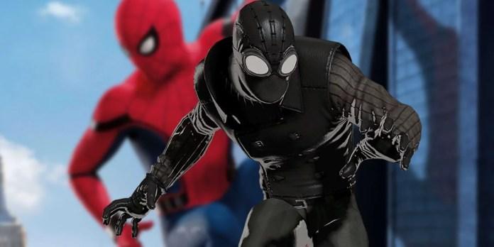 Kostum terbaru Spider-Man dan Mysterio