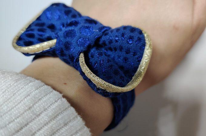 Coudre un bracelet nœud papillon