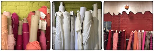 Choisir son tissu uni ou à motif