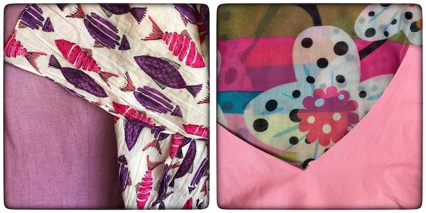 Les couleurs dans vos créations textiles
