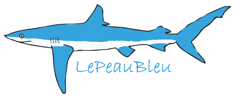 Logo officiel de LePeauBleu