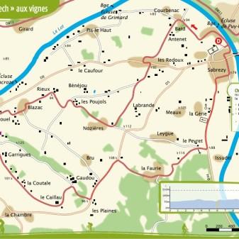 Puy-l'Évêque 13,5 km 1,15 uur Makkelijk