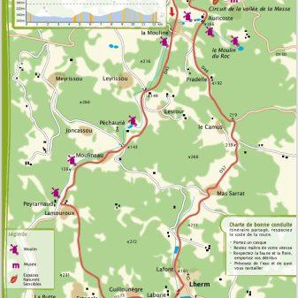 Les Arques 11,8 km 1 Stunde Durchschnitt