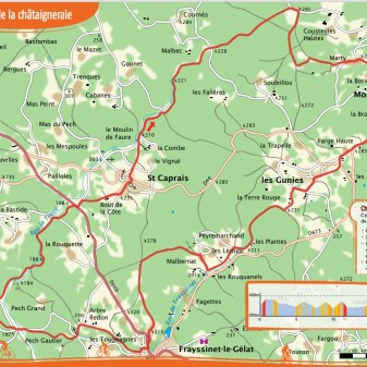 Montcléra 23 km 2.5 hours Difficult