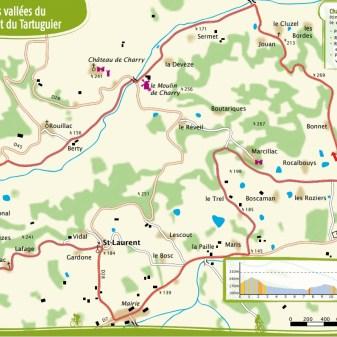 Saint Cyprien 17 km 1,5 Stunden Durchschnitt