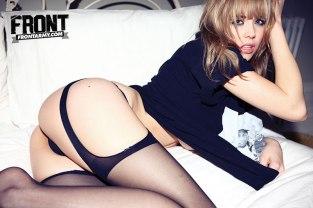 Danielle Sharp Front Magazine