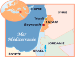 carte Liban