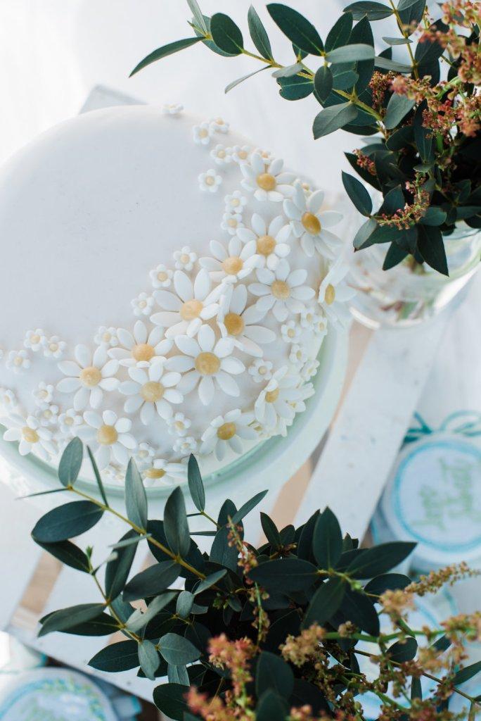 matrimonio vintage: la torta