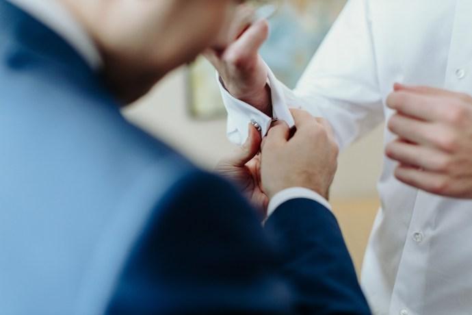 timing preparazione sposo
