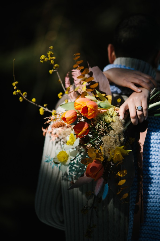 micro-wedding bouquet