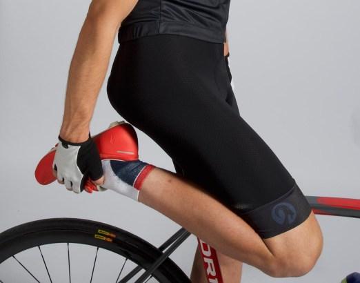 Étirement crampes cyclisme