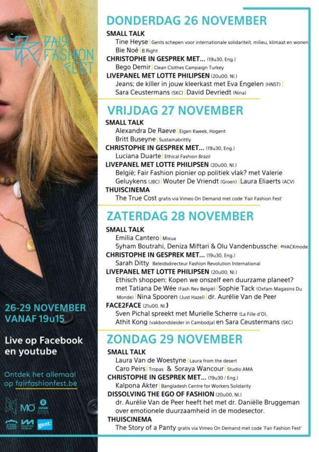 FFF Gent Programma