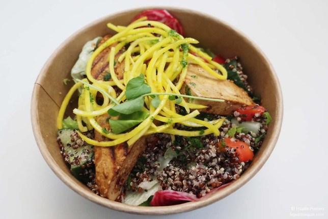Tofu-quinoa-salade (Le petit requin)