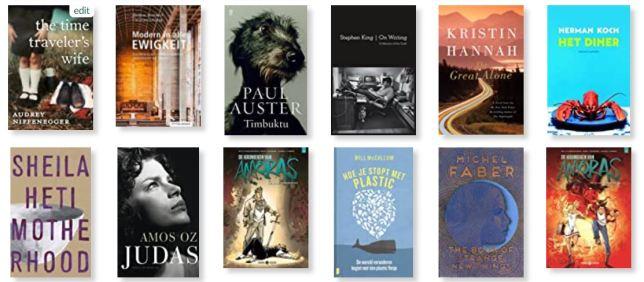 Goodreadsboeken (Le petit requin)