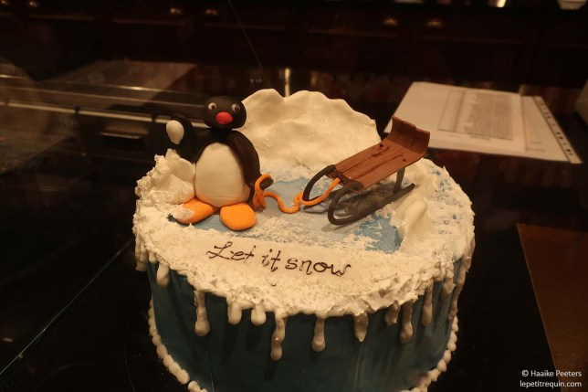 Pingu-taart (Le petit requin)