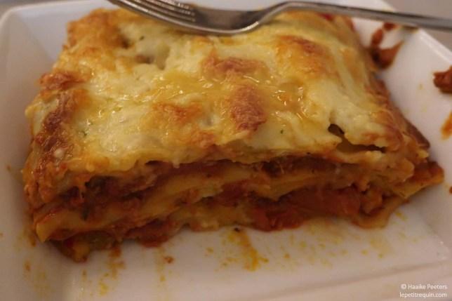 Veggie lasagne bolognaise (Le petit requin)