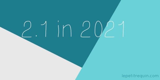 Voornemens 2021 (Le petit requin)