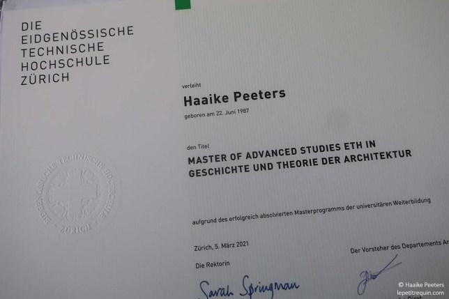 Diploma ETH (Le petit requin)