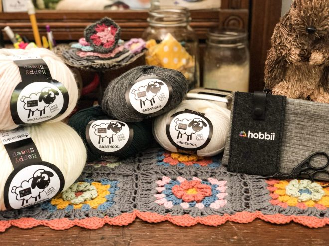 Hobbii Yarn - Wool Power and Baby Wool