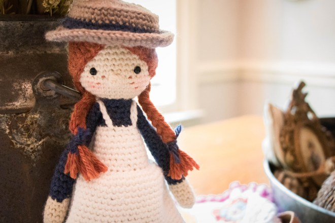 Anne of Green Gables Amigurumi Doll