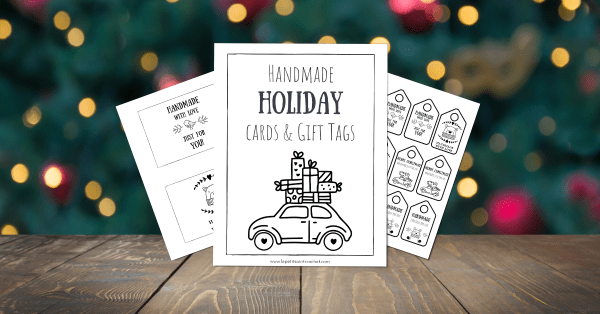 Handmade Holiday Cards & Gift Tags