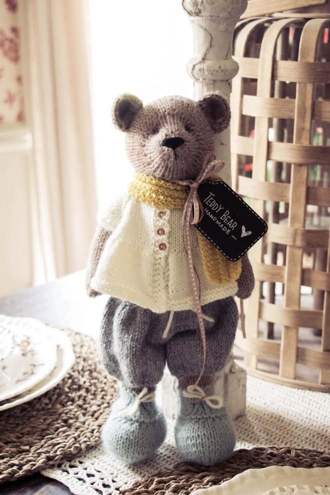 Mary Jane's Tearoom Teddy Bear