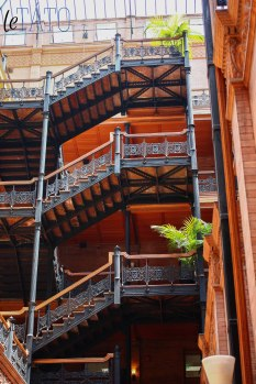 Bradbury Building: Floors