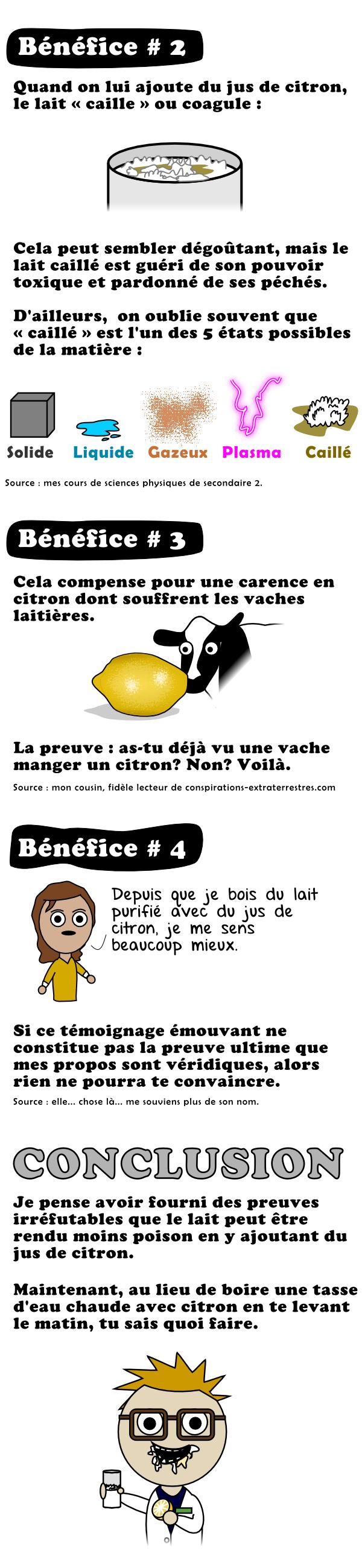 Les bénéfices du lait vivant