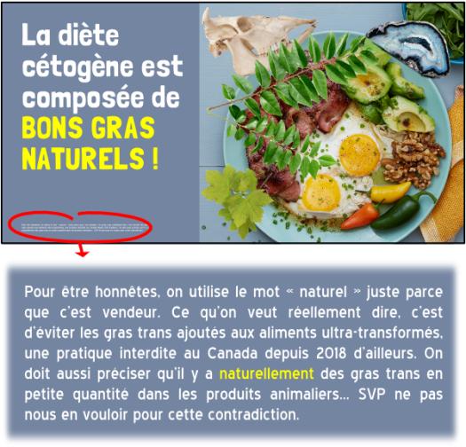 diète cétogène bons gras naturels