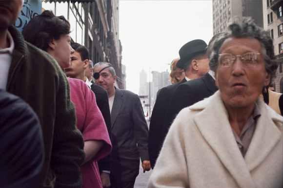 borgne dans la rue