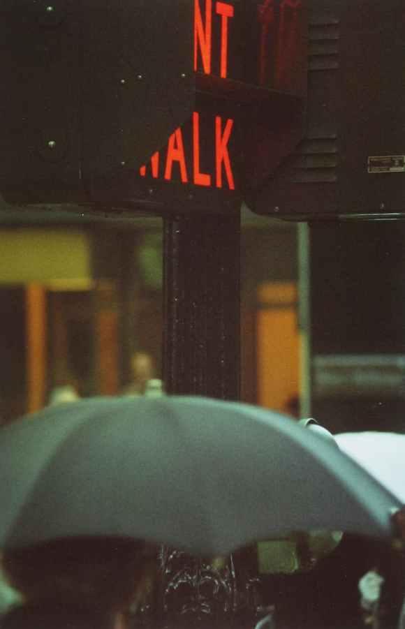 Saul Leiter - Don't Walk - 1952