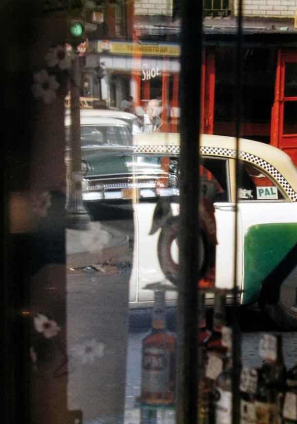 Saul Leiter - Taxi - 1956