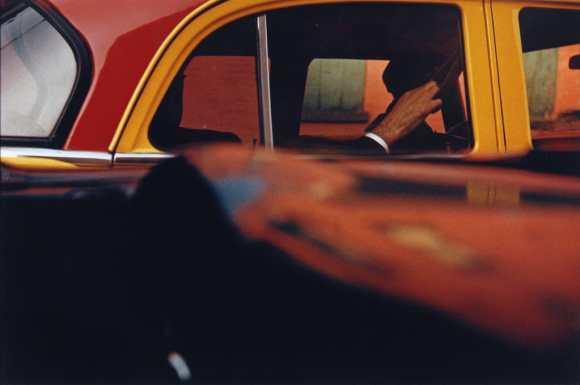 Saul Leiter - Taxi - 1957