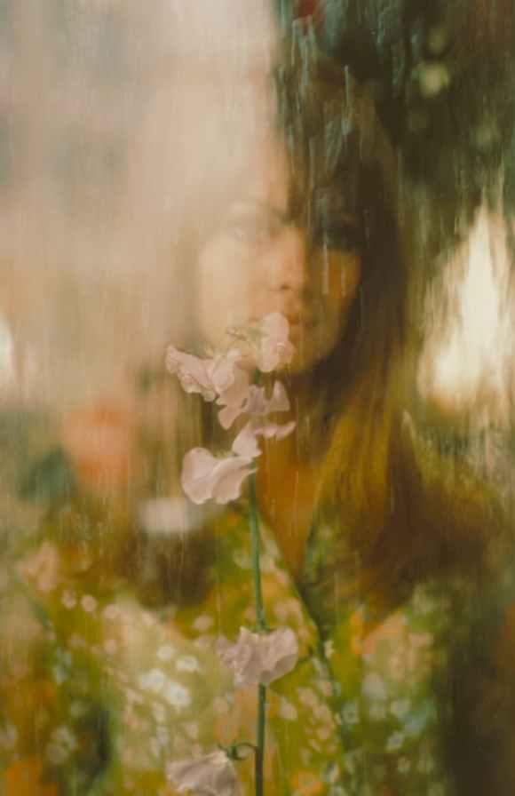 Saul Leiter - Jean Shrimpton pour Vogue - 1966