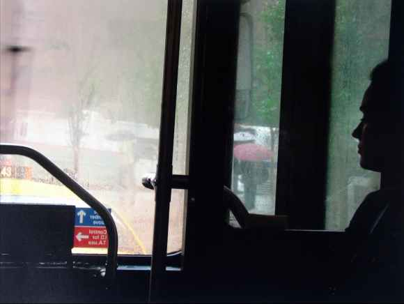 Saul Leiter - On The Bus - 2010