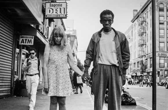 Photo de Khalik Allah : un couple âgé dans la rue