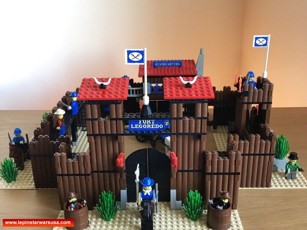 Review Lepin Wild West Fort Legoredo Competiable