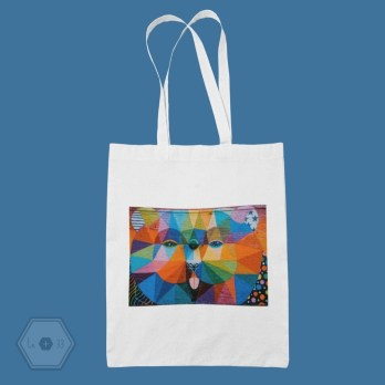 Tote bag ours street art