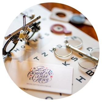 Des lunettes uniquement sur RDV personnalisés au Point de Vue d'Alice Quimper Finistère