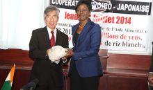 Coopération : Le Japon fait don de 9 600 tonnes de riz à la Côte d'Ivoire