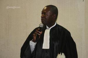 Le commissaire du gouvernement, le magistrat-colonel Ange Kessi (Ph:Dr)
