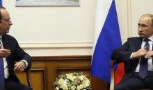 François Hollande rencontre Vladimir Poutine à Moscou pour échanger sur la crise ukrainienne