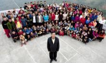 Inde / Incroyable : Un homme vit avec 39 épouses, 94 enfants et 33 petits-enfants