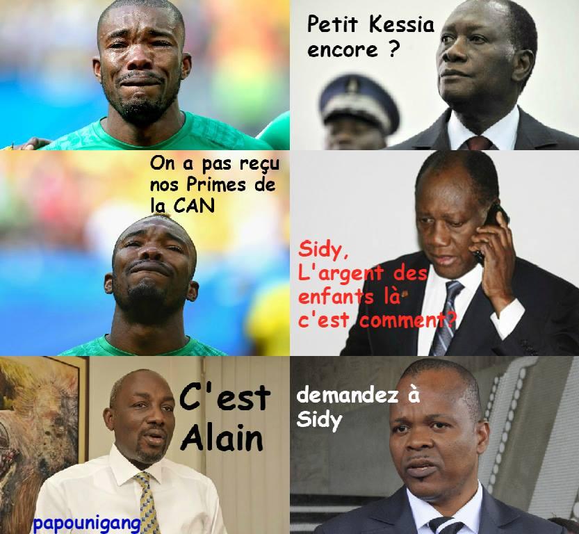 Cette image traduit ce que les Ivoiriens veulent savoir dans cette affaire (Ph:Dr)