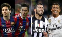 Ligue des champions: Barça-Bayern et Juventus-Real en demis