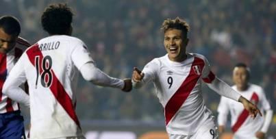 Paolo Guerrero a inscrit le deuxième but du Pérou. (Reuters)