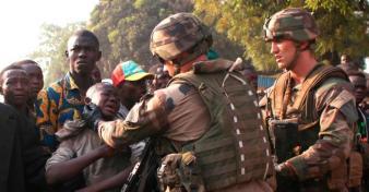 Centrafrique : Les soldats français accusés d'avoir tué des civils. On pensait que Sangaris était venue nous aider, mais ils assassinent nos enfants. photo d'archive