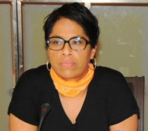 Nathalie Yamb la Directrice Nationale de campagne de Mamadou Koulibaly.Ph.Dr